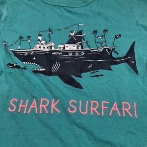 H&M Shirts & Tops - H&M Shark Surfari Graphic Tee Shirt A170449